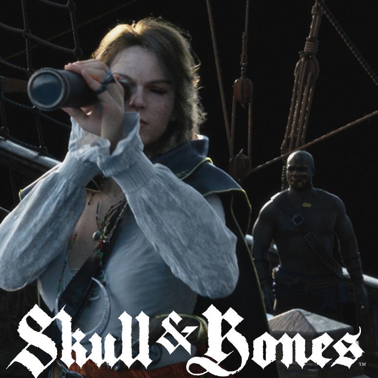 Skull and Bones: E3- cloth textures