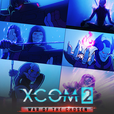 XCOM 2: War Of The Chosen Storyboards