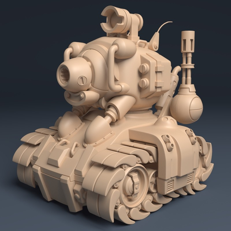 Metal Slug Tank - SV001 | Clay