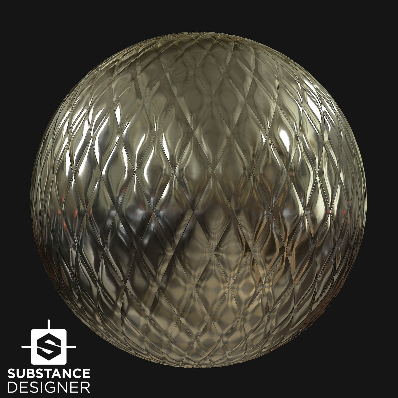 Metal - Diamond Pattern - Substance Designer Material
