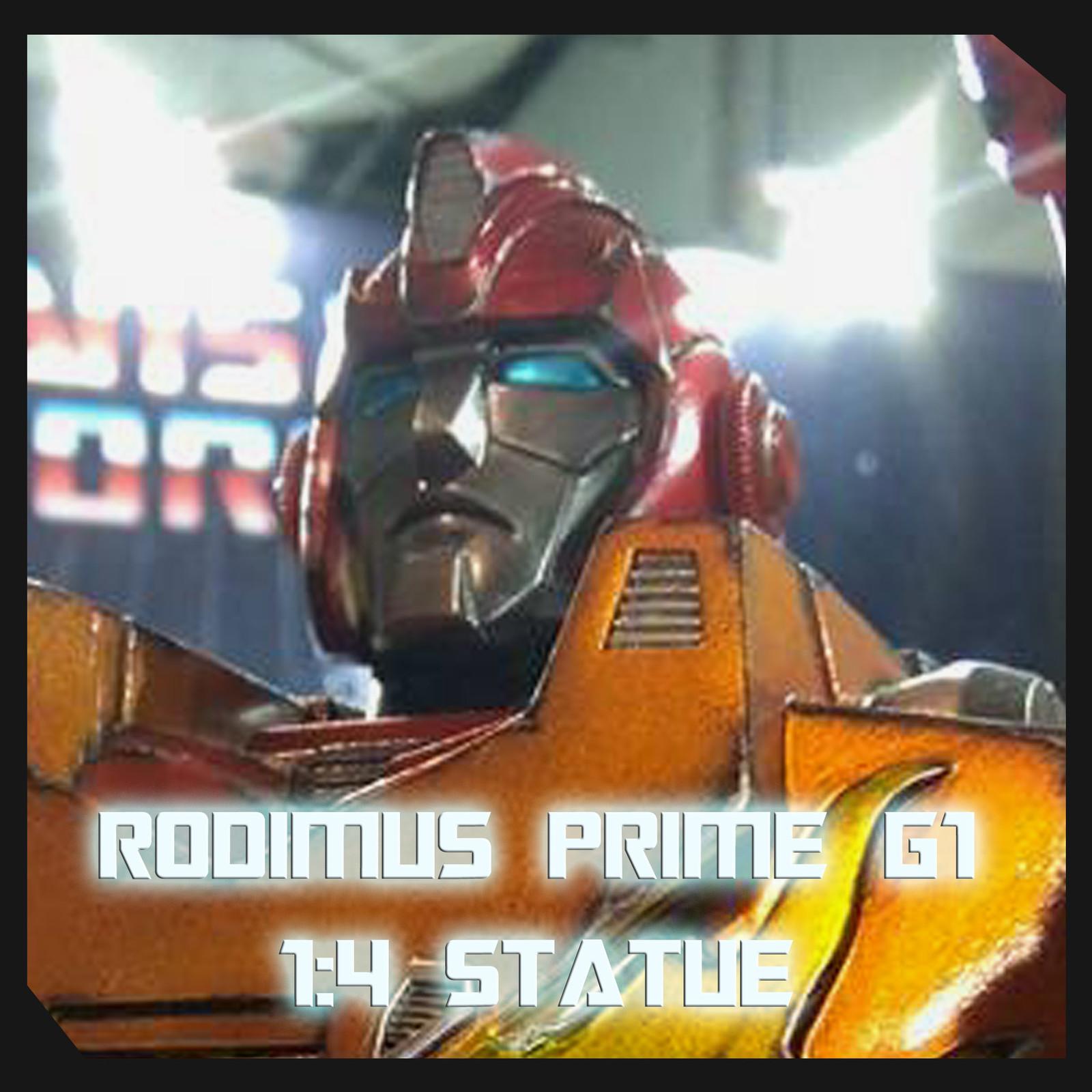 Rodimus Prime G1 1:4 Statue By Sergio Mengual