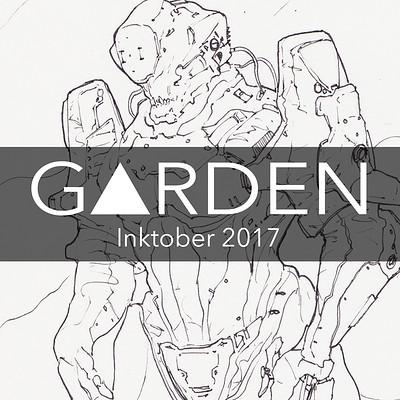 Tom garden inktober 2017 logo