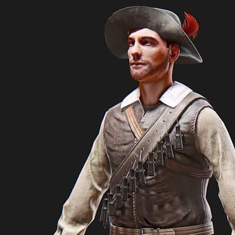 Musketeer 1632