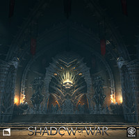 Artstation Shadow Of War Ui Hierarchy And World Map Anthony Lampa