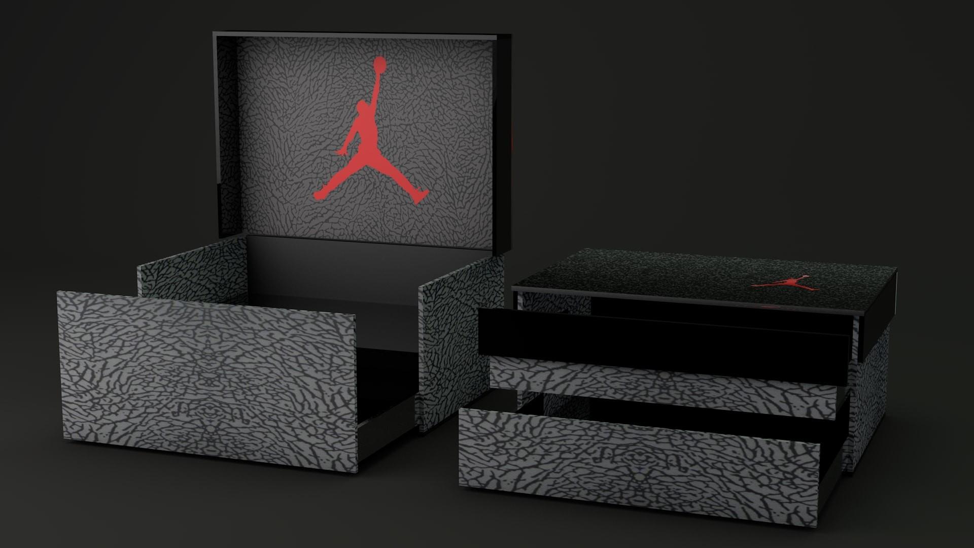 ArtStation - Jordan Shoe Box Storage, Iheb Bouazizi