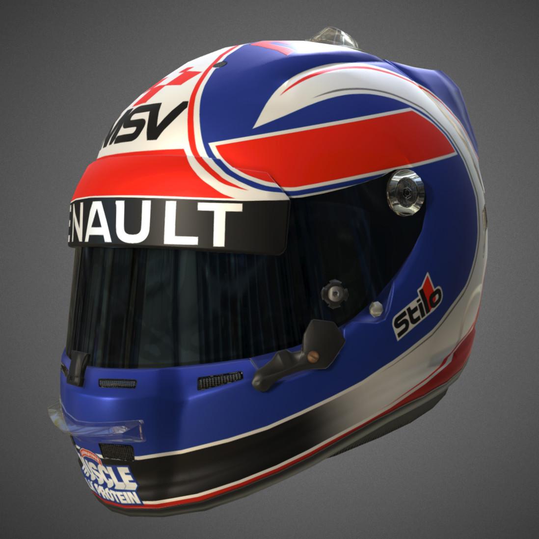 Jolyon Palmer F1 Helmet