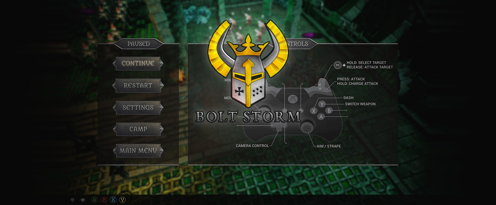 Bolt Storm UI