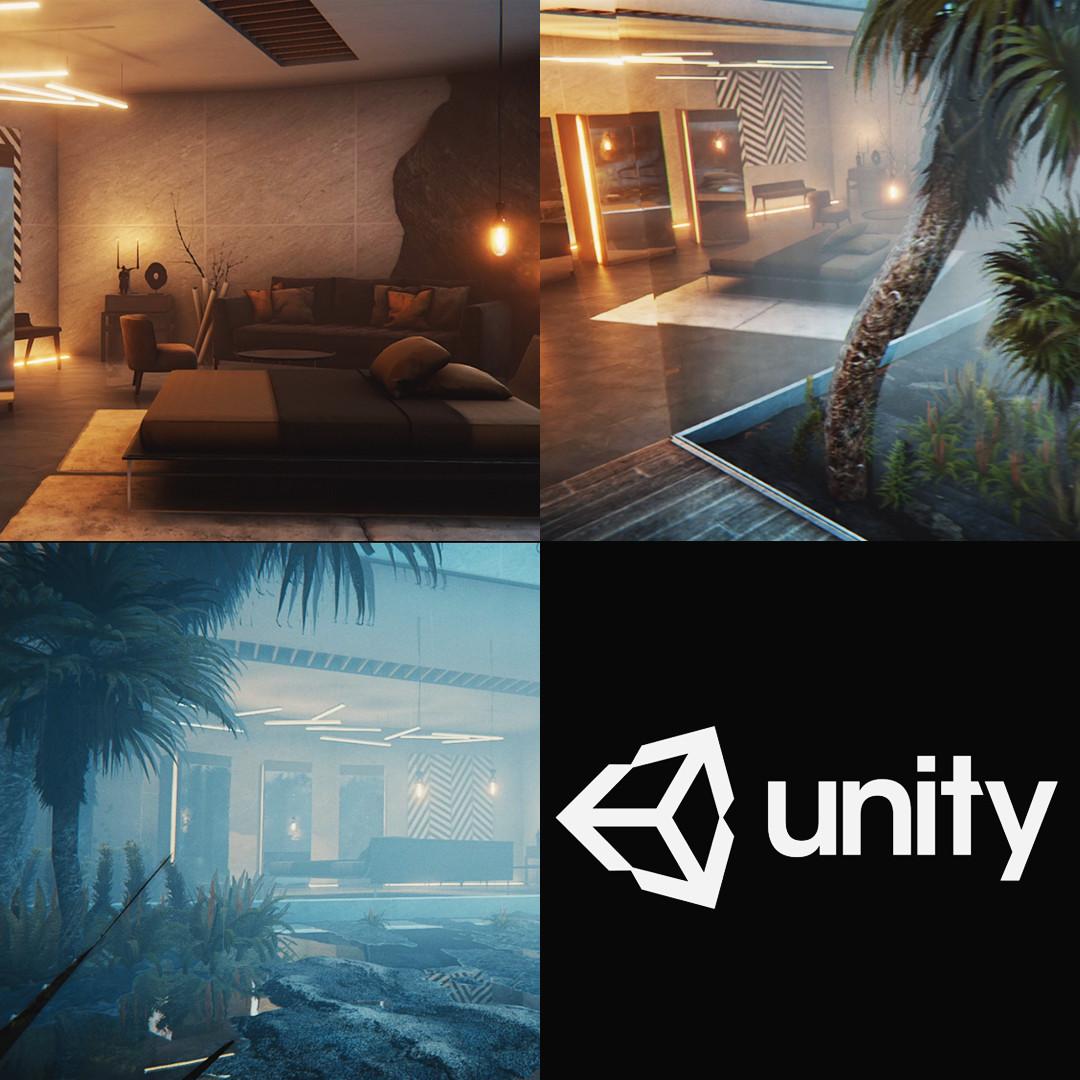 ArtStation - Unity Environment - Ex Machina Study, Florian Boué