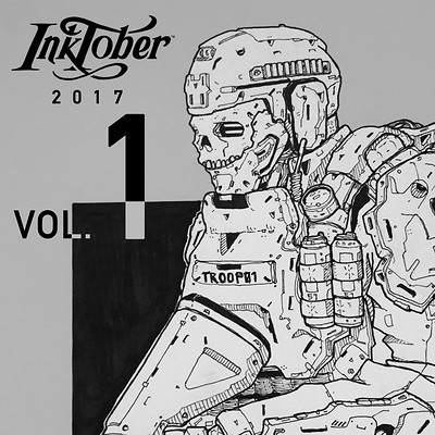 Inktober 2017 | vol.1