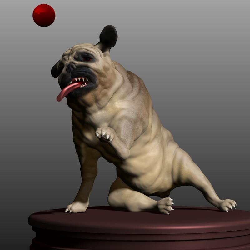 Speedsculpt pug