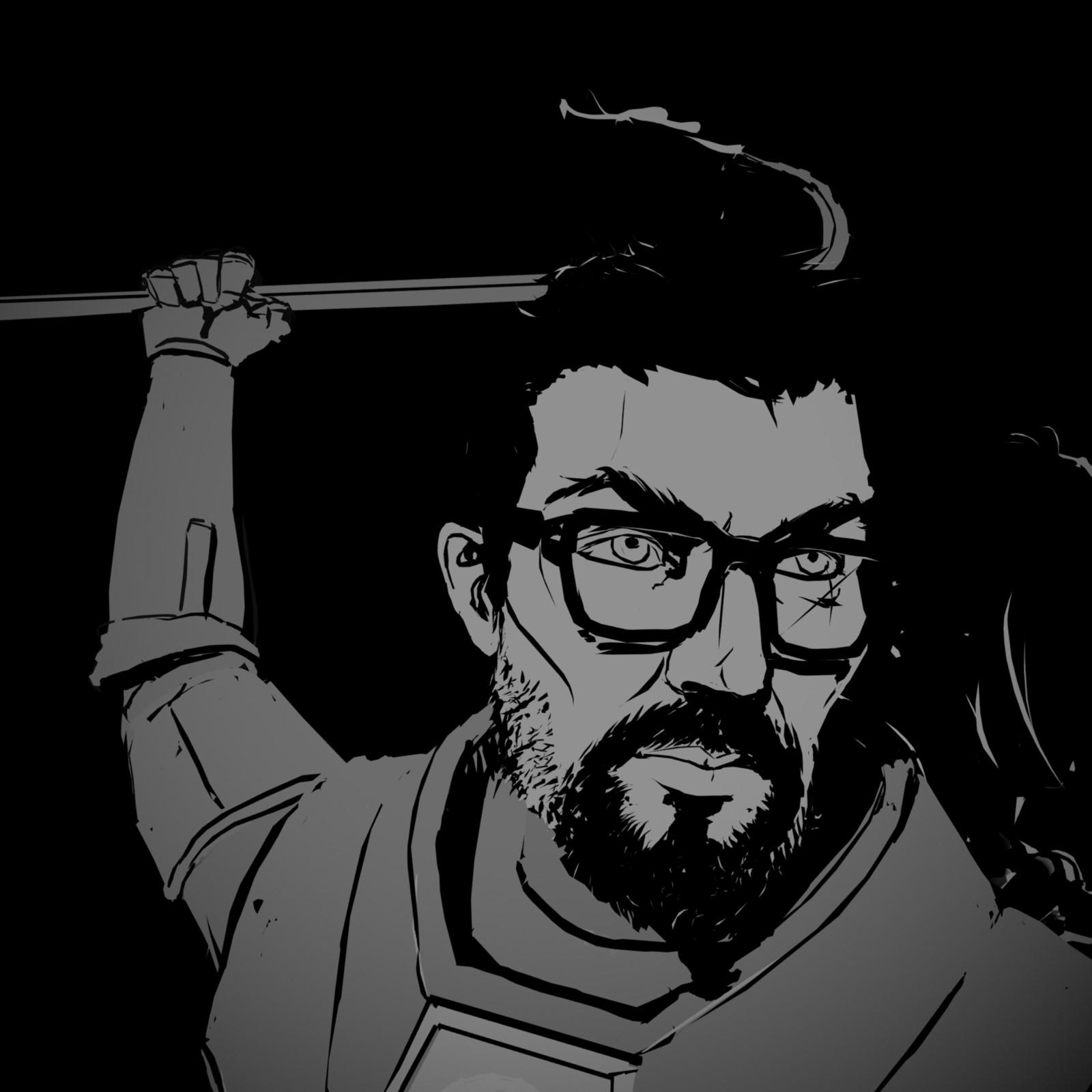 Quill - Half-Life 2: Episode 1 Fanart
