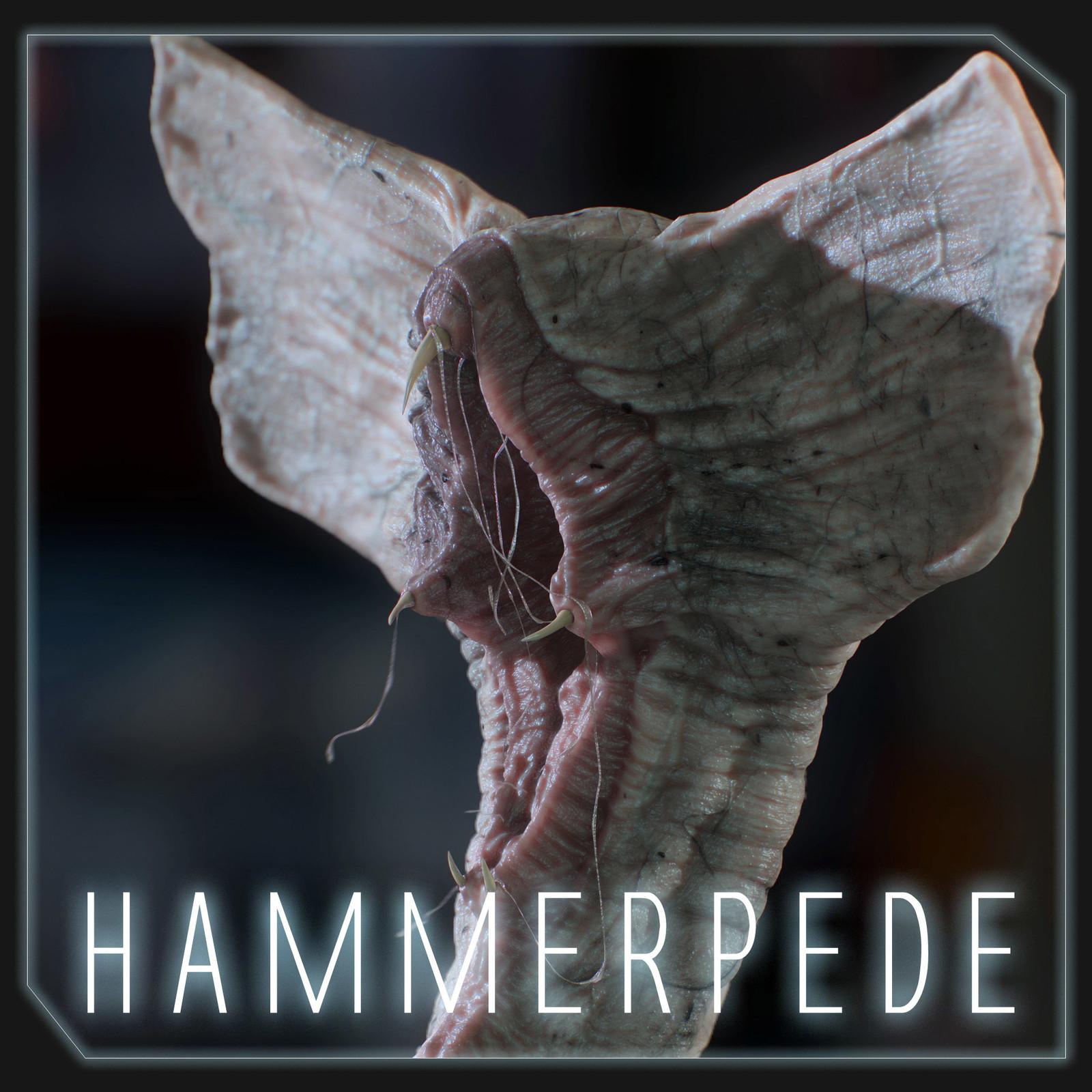 Hammerpede Prometheus Original Concept Art