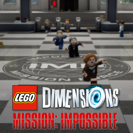LEGO Dimensions Mission Impossible - IMF Lobby