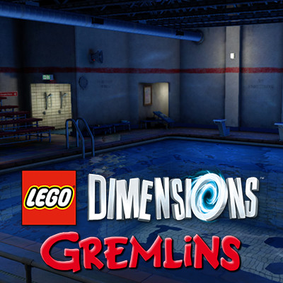Lego Dimensions Gremlins - Swimming Pool
