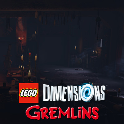Lego Dimensions Gremlins - Chinese Shop