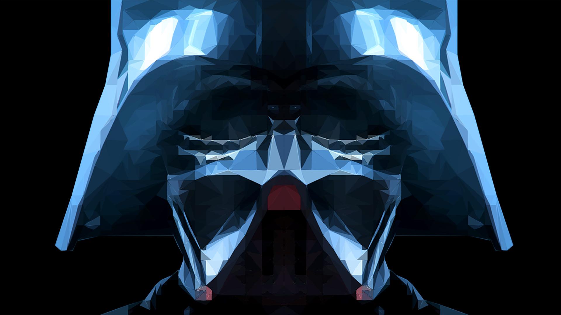 ArtStation - Darth Vader Low Poly Portrait, Shashanka Malhotra