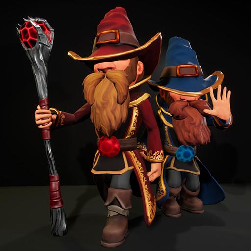 Stylized Wizard