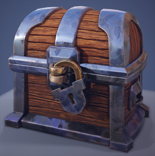 """Hand Painted"" Substance Chest"