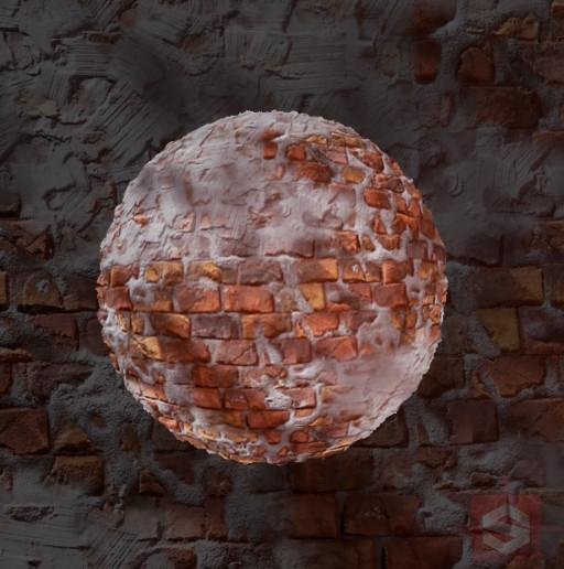 Bi-Weekly Substance Challenge #01 Stylized Brick Wall