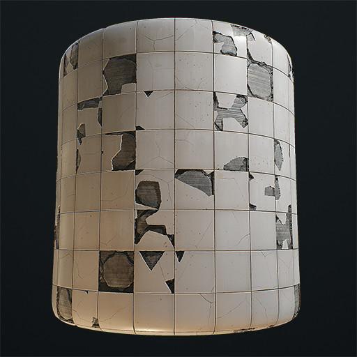 Broken Tiles Material