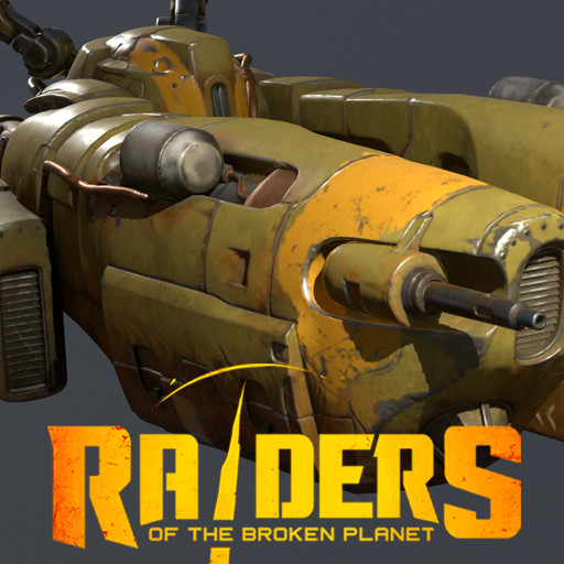 Human Transport - Raiders of the Broken Planet