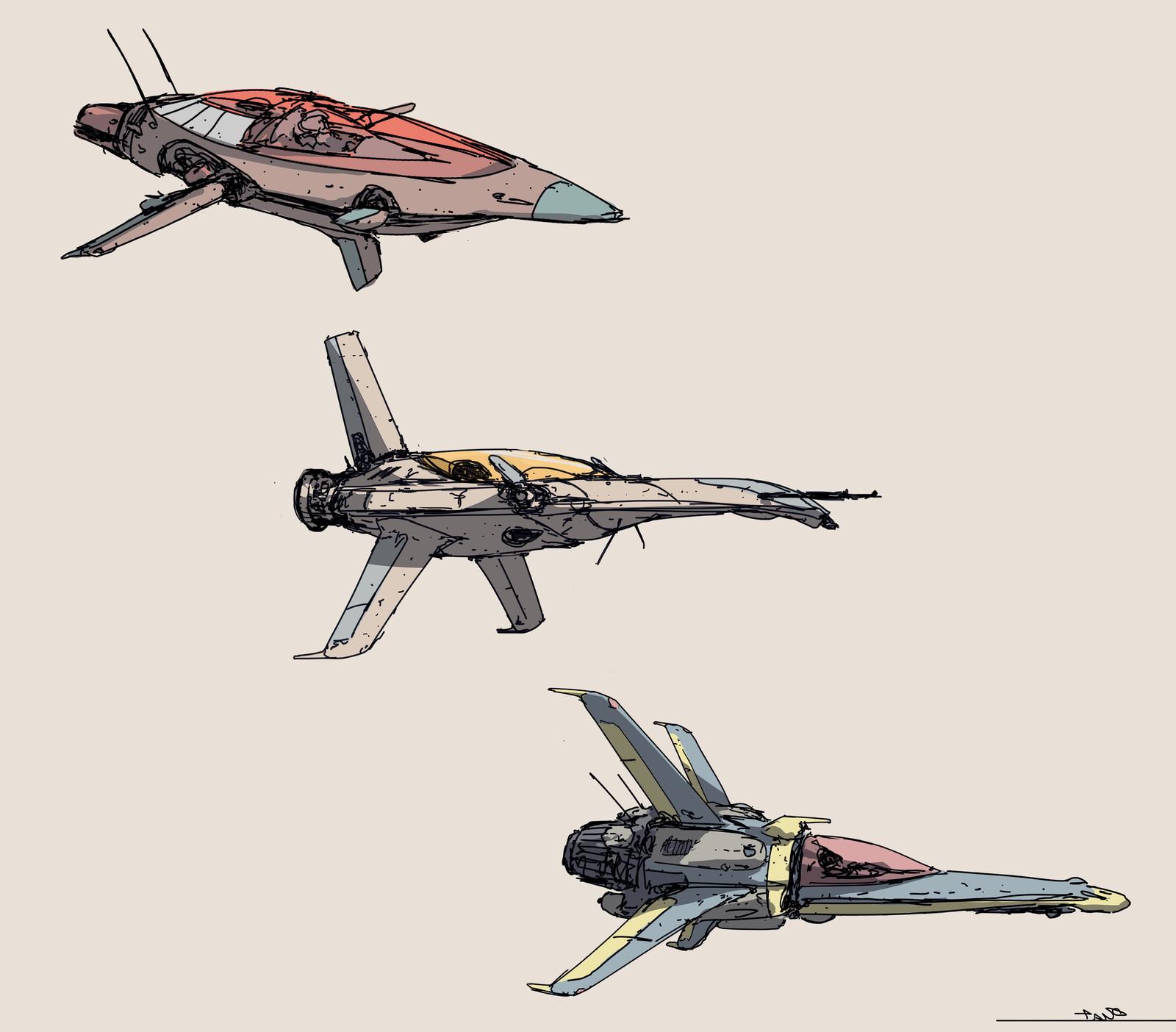 little fast ships .