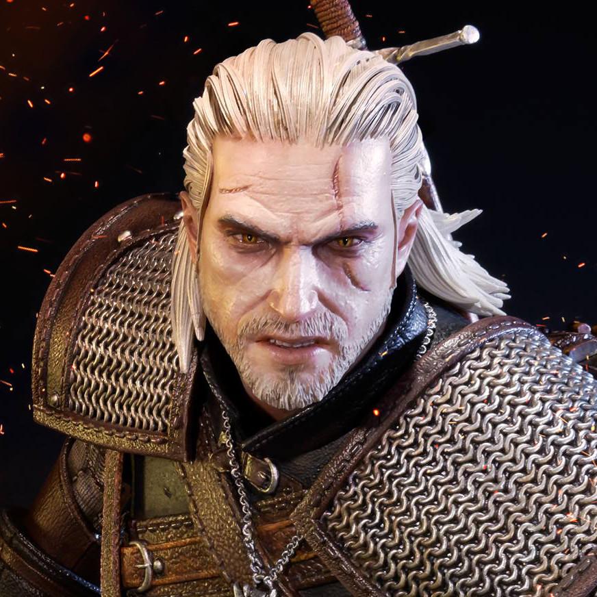Alvaro Ribeiro 3d Witcher 3 Geralt Prime1 Studio Statue