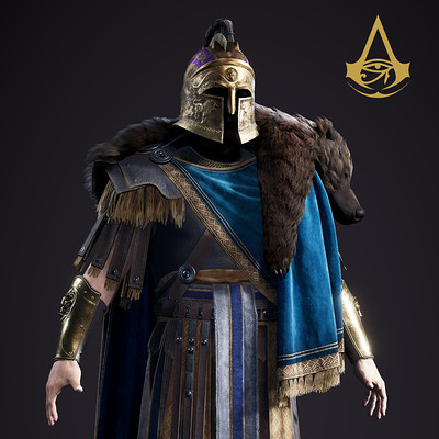 Assassin's Creed Origins : Lucius Septimus' Outfit