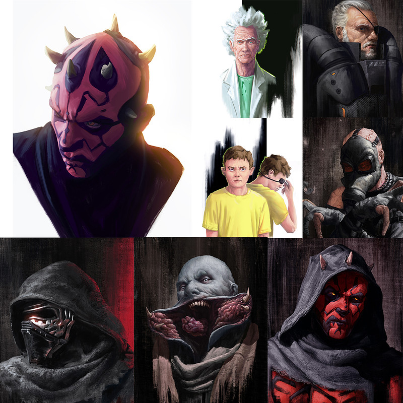 Fan Art Portraits