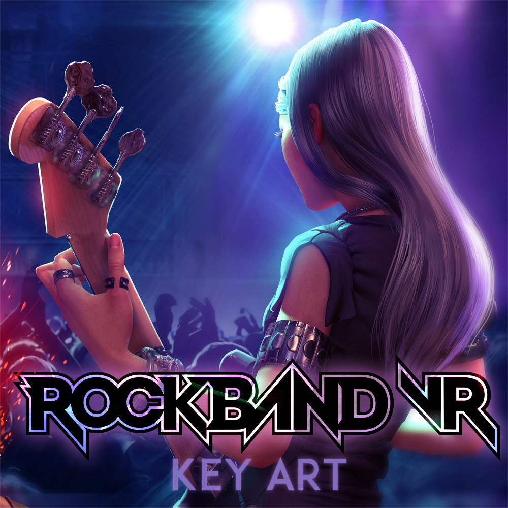 Rock Band VR Key Art
