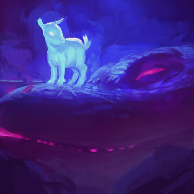 Devin platts baby goat dragon6