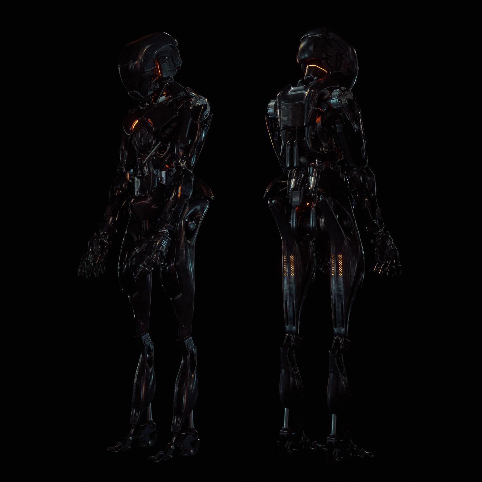 Oneplus 5T Robot