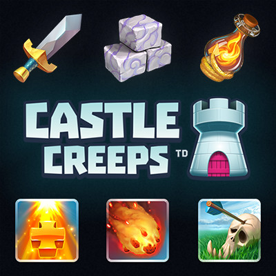 Castle Creeps TD Icons