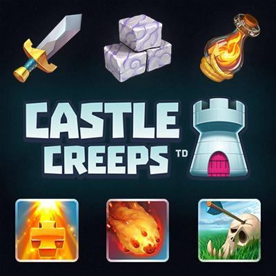 Castle Creeps TD Icons