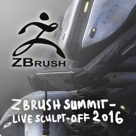 Zbrush Live Sculpt-off 2016