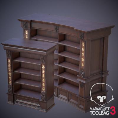 Karazhan bookcases