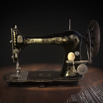 Game Prop:Old Sewing Machine