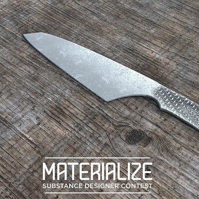 Machined Wood Grain and Knife Mattershots