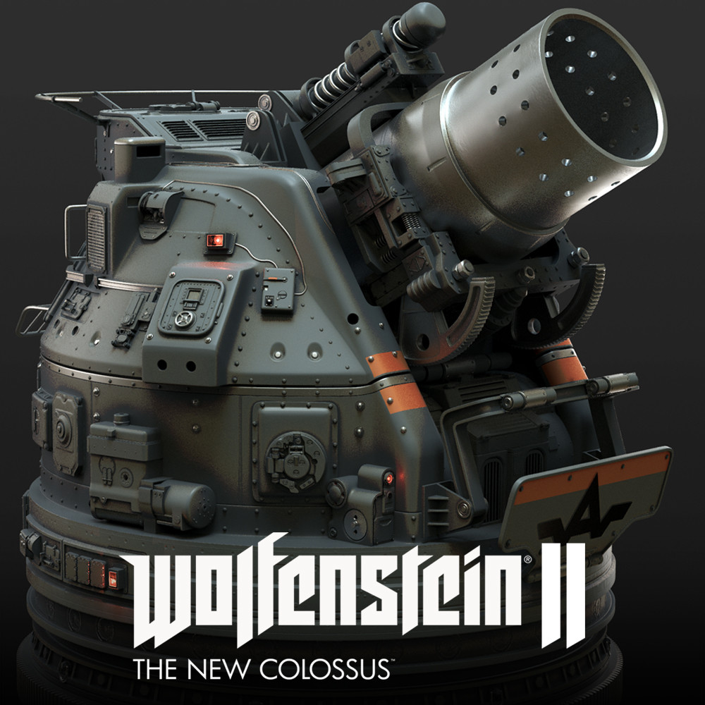 Wolfenstein 2 flump cannon