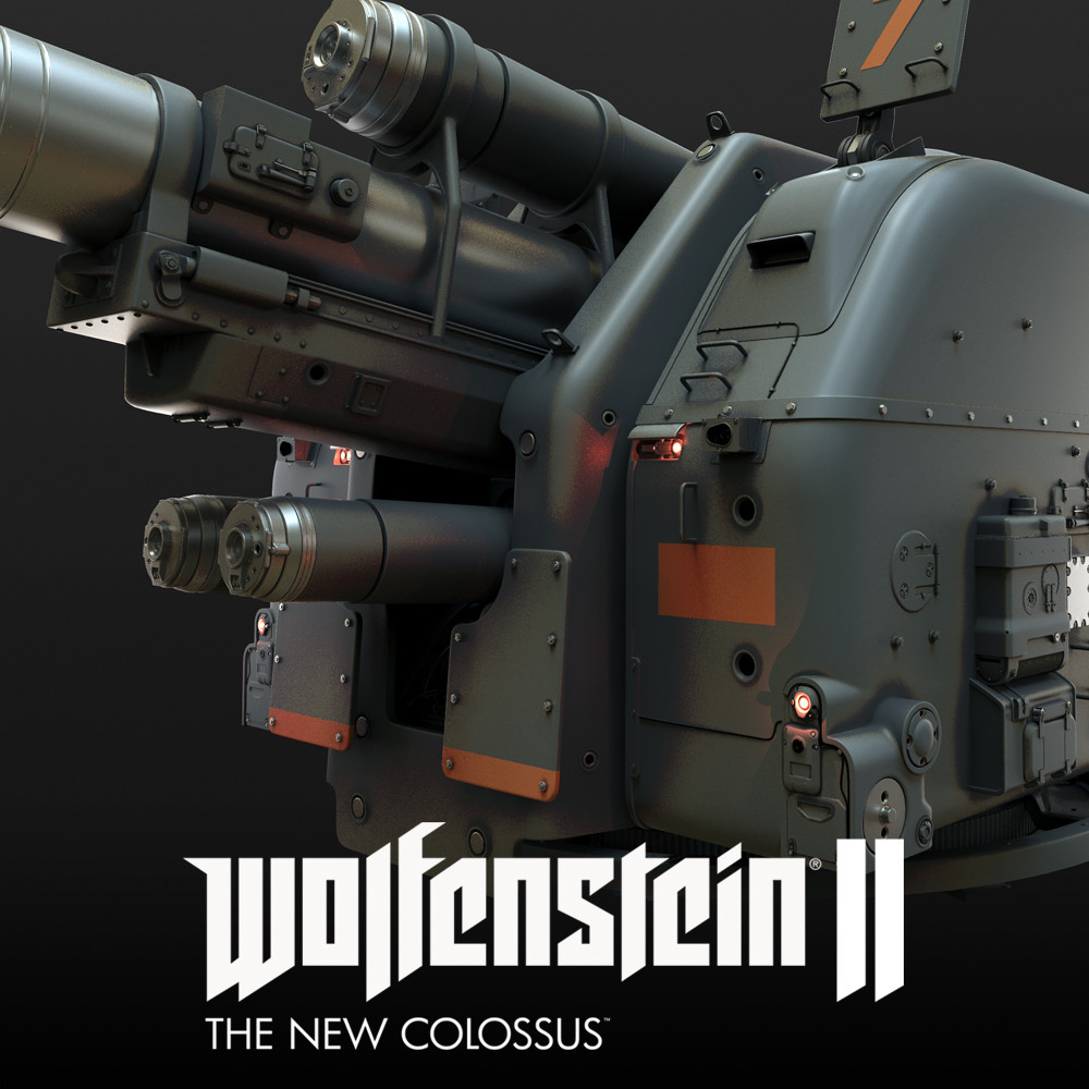 Wolfenstein 2: cannon
