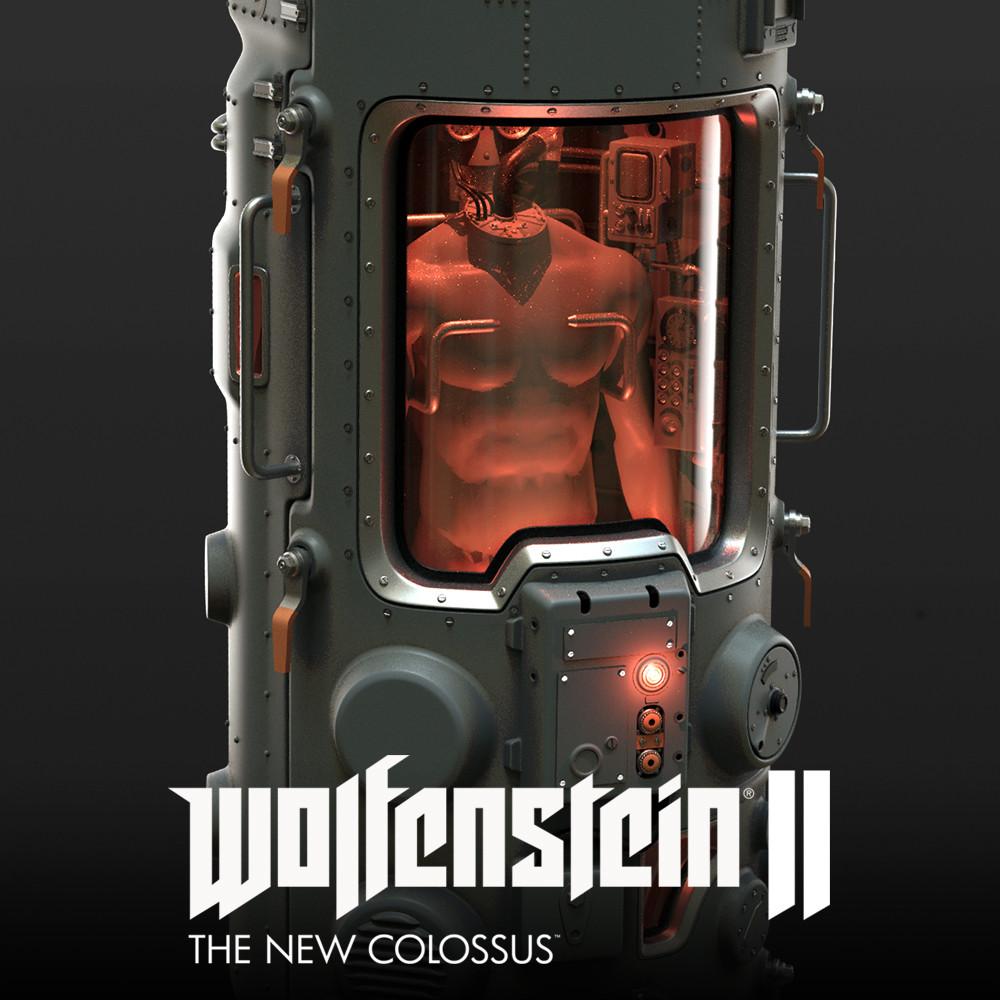 Wolfenstein 2: specimen tank