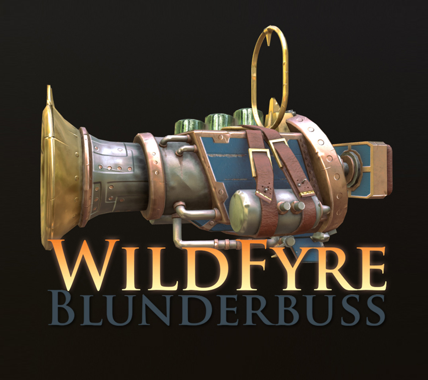WildFyre Blunderbuss - 3D stylized shotgun