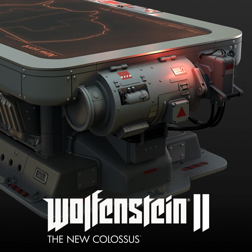 Wolfenstein 2: warmap