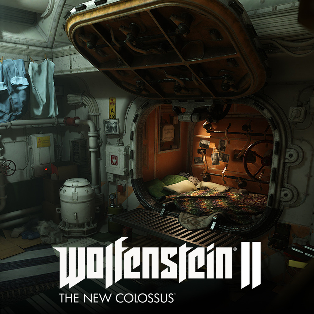 Wolfenstein 2: Hero room