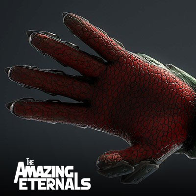 Urchin Gauntlet - The Amazing Eternals