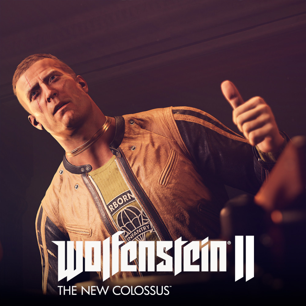 "Wolfenstein II - William Joseph ""B.J."" Blazkowicz"