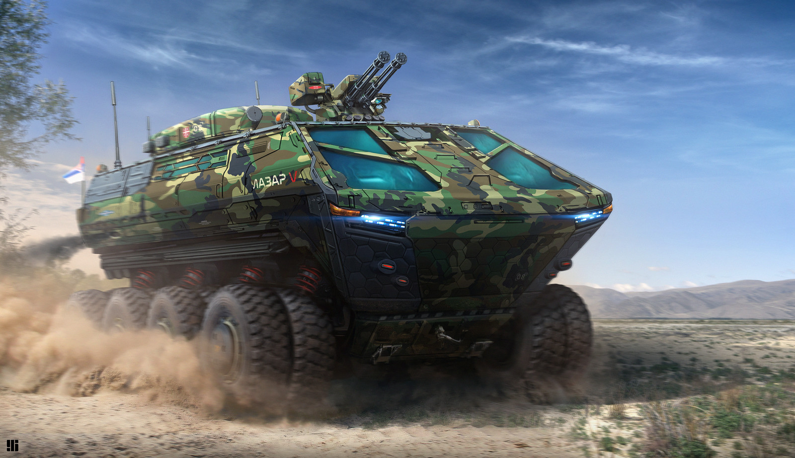 Lazar 5 Armored Vehicle