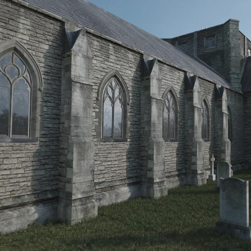 All Hallows Virtual Reconstruction