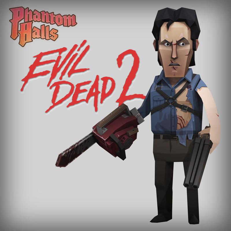 Phantom Halls - Evil Dead 2 Content