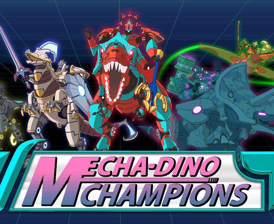 Mecha-Dino Champions | Character models